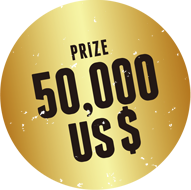 PRIZE 50,000 US$